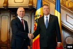 La întîlnirea cu președintele Klaus Iohannis