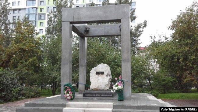 Памятник репрессированным в Новосибирске