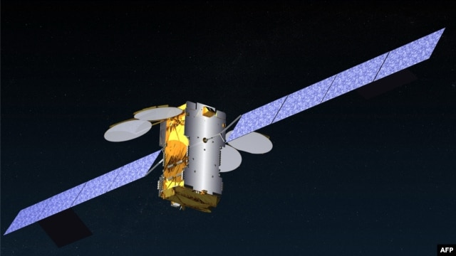 Space -- An image released by Eutelsat shows a computer-generated image of the European satellite KA-SAt of Eutelsat Communications, 26Dec2010