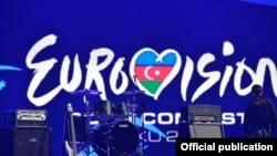 Scena Eurosonga u Bakuu, maj 2012.