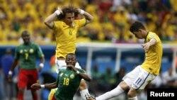 В атаке сборная Бразилии