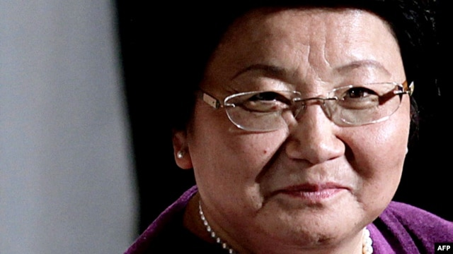 Roza Otunbaeva doesn't rule out a return to politics some day.