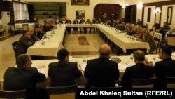 جانب من مؤتمر الأقليات العراقية في دهوك