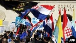 Zastava Hrvatske u Mostaru