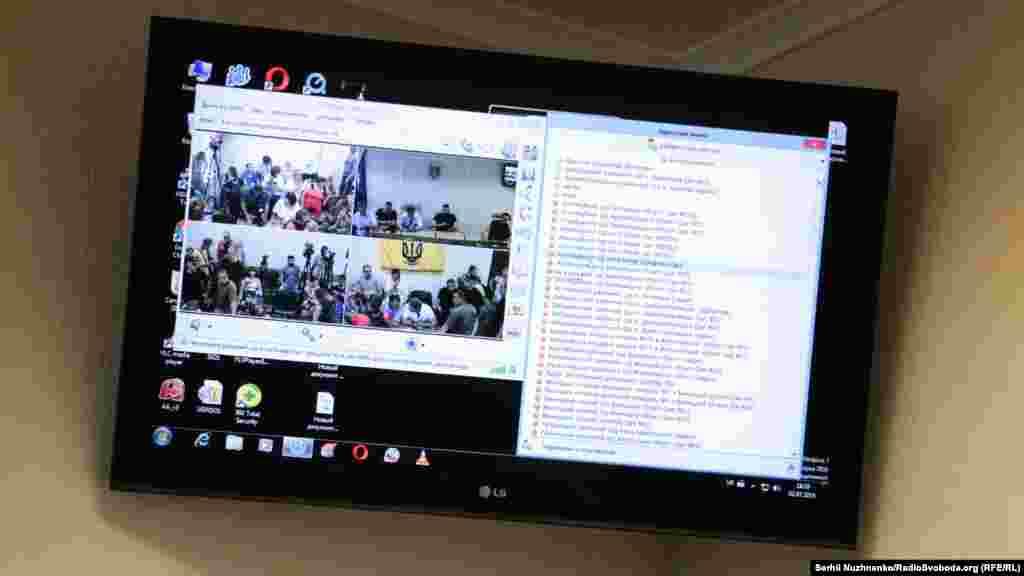 В очікуванні скайп-звязку з Апеляційним судом Києва