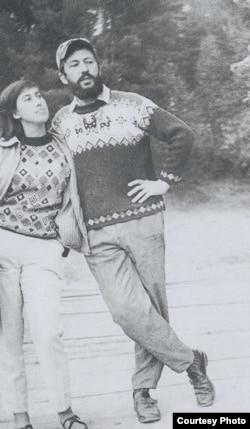 Марина и Игорь Ефимовы, 1970