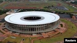 Националниот стадион во Бразилија.