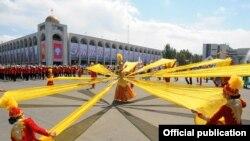 Празднования Дня независимости в Бишкеке. Архивное фото.