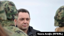 српскиот министер за одбрана Александар Вулин, архивска снимка