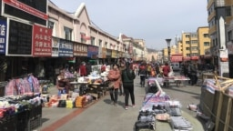 Рынок в Суйфеньхэ