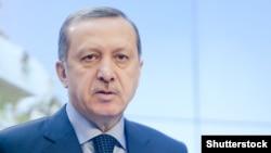 Tурскиот премиер Реџеп Таип Ердоган.