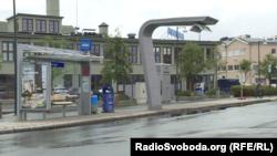 Осло, тоькаца лелачу автобусна лерина станци.