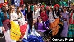 زنان ایرانی در جشن نوروز ۹۴ در لسآنجلس