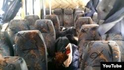 Загиблі під Волновахою пасажири, відеокадр, 13 січня 2015 року