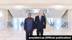Prezident İlham Əliyev Mohammad Barkindo-nun nümayəndə heyətini qəbul edib, 18 mart, 2018-ci il