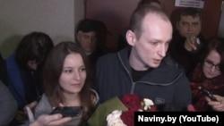 Эдуард Пальчис в зале суда, Минск, 28 октября 2016