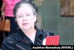 Елена Ковшарова, мать осужденного по делу БТА Банка Андрея Ковшарова.