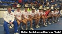 Мужская национальная сборная во волейболу.