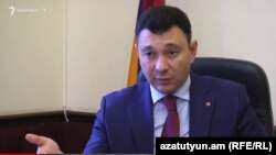 Эдуард Шармазанов, Ереван, 9 ноября 2017 г.