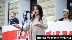 Potpredsednica opozicione Stranke slobode i pravde Marinika Tepić