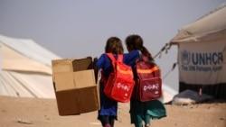 Сириядағы балаларға көмек науқаны басталды