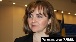 Moldovan Deputy Prime Minister and Foreign Minister Natalia Gherman (file photo)