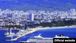 Pamje nga qyteti-port Varna në Bullgari
