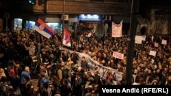 "Treći dan ""Protesta protiv diktature"""