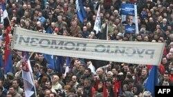 Pamje nga tubimi parazgjedhor i Partisë Radikale në Mitrovicë