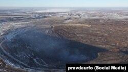 Коркинский угольный разрез считается самым крупным карьером в Европе