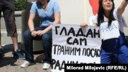 Jedan od protesta u regiji