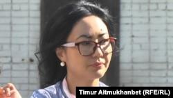 Асель Манаканова, жительница города Павлодара. 2 августа 2016 года.