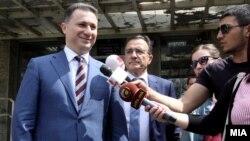 Архивска фотографија: Лидерот на ВМРО-ДПМНЕ Никола Груевски на распит во Основен суд 1