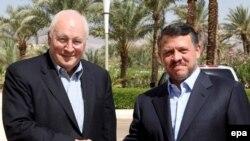 معاون رییس جمهوری آمریکا روز دوشنبه در اردن با ملک عبدالله پادشاه این کشور دیدار و گفت و گو کرد