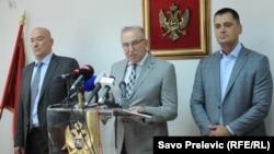 Tužioci na konferenciji za novinare, foto: Savo Prelević