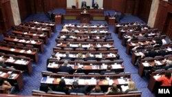 Архивска фотографија: Конститутивната собраниска седница