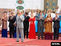 Türkmen aýdymçylary. Arhiwden alnan surat