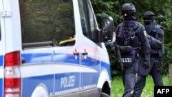Pjesëtarë të policisë gjermane