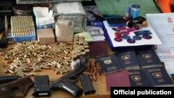 Mjetet e konfiskuara nga Policia e Kosovës