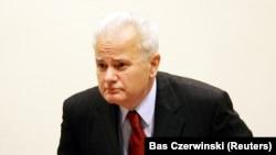 Fostul președintel iugoslav Slobodan Milosevic
