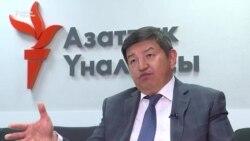 Жапаров: Таласка президент Бакиев өзү жиберген