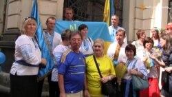 Українці у Празі святкують День прапора та День незалежності