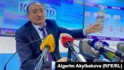 Министр здравоохранения Кыргызстана рекламирует отвар аконита