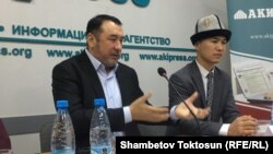 Мыктыбек Арстанбек, лидер кыргызской партии «Нур».