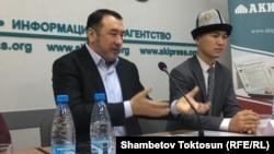 """""""Нұр"""" партиясының басшысы Мыктыбек Арстанбек."""
