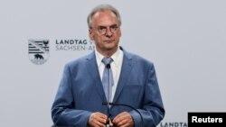 Germania: premierul landului Sanxonia-Anhalt, Reiner Haseloff, liderul CDU, 6 iunie 2021.