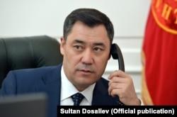Szadir Dzsaparov kirgiz elnök
