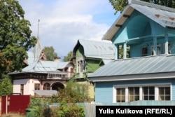 Старинные дома Сестрорецка