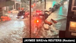 Наводнение в Нью-Йорке 1 сентября 2021 года