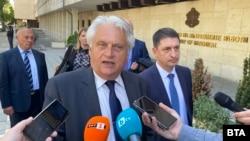 Служебният министър на вътрешните работи Бойко Рашков
